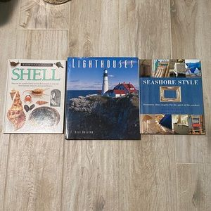 3 Coffee Table Books